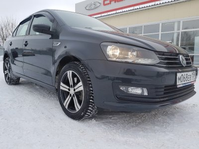 Volkswagen Polo 2018 г., 1.6л., Автомат,