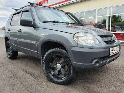 Chevrolet Niva 2017 г., 1.7л., Механика,