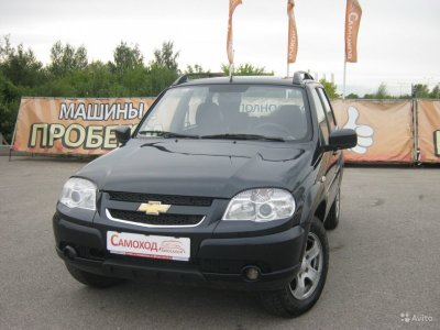 Chevrolet Niva 2012 г., 1.7л., Механика,